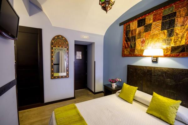 imagen de habitación doble del Hostal La Flor de Al-Ándalus